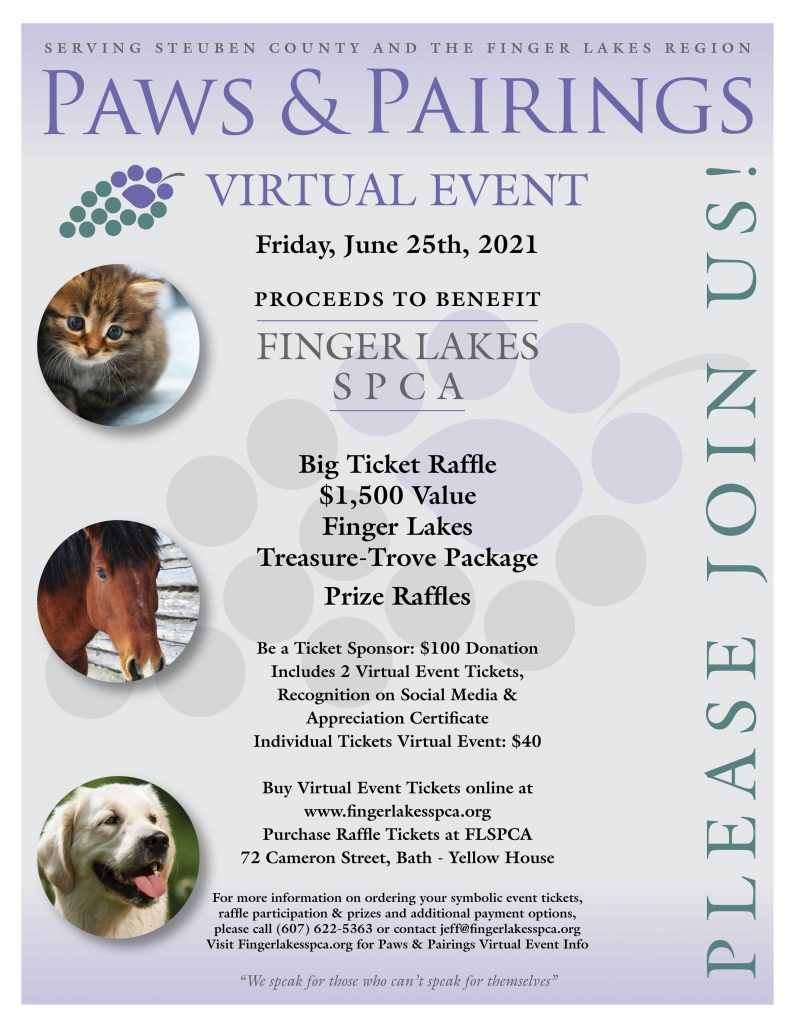 FLSPCA | Paws & Pairings 2021