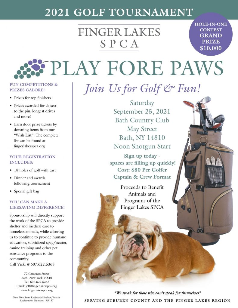 FLSPCA Play Fore Paws 2021